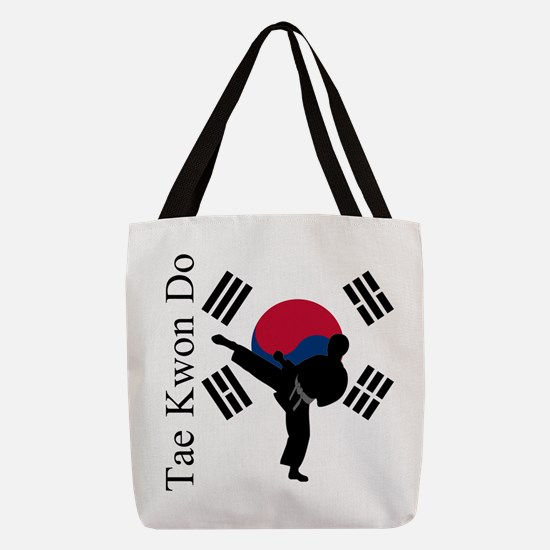 TKD Flag Polyester Tote Bag