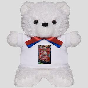Welcome! Teddy Bear