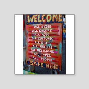 Welcome! Sticker