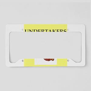undertaker License Plate Holder
