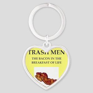 trash man Heart Keychain