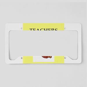 teacher License Plate Holder