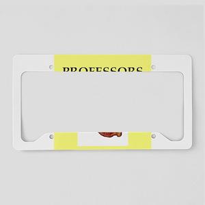 professor License Plate Holder