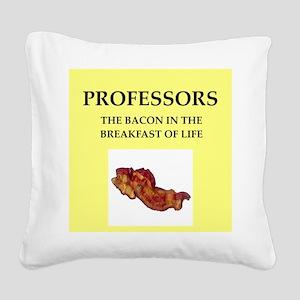 professor Square Canvas Pillow