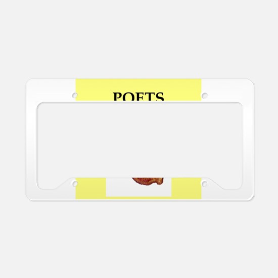 poet License Plate Holder