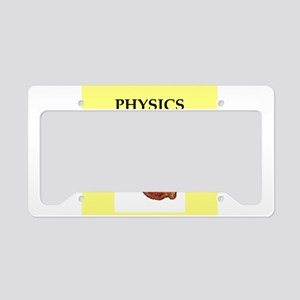 physics License Plate Holder