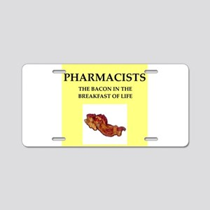 pharmacist Aluminum License Plate