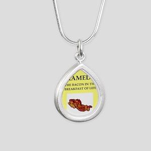 paramedic Silver Teardrop Necklace