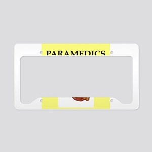 paramedic License Plate Holder