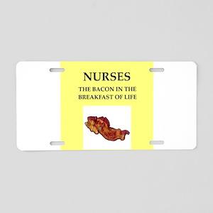 nurse Aluminum License Plate