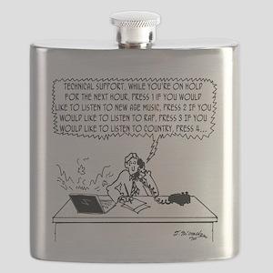 Technical Support Cartoon 6219 Flask
