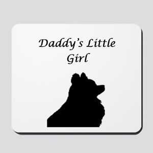 Daddys LIttle Girl Silhouette Mousepad