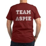 Team Aspie Men's Fitted T-Shirt (dark)