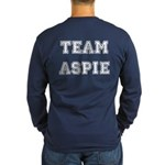 Team Aspie Long Sleeve Dark T-Shirt