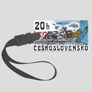 1975 Czechoslovakia Motorcycle Postage Stamp Lugga