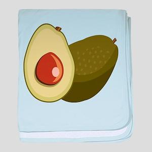 Avocado baby blanket
