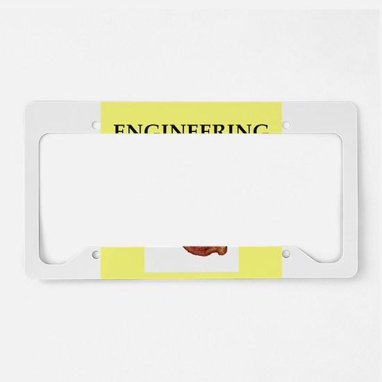 engineer License Plate Holder