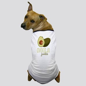 Avocado Junkie Dog T-Shirt