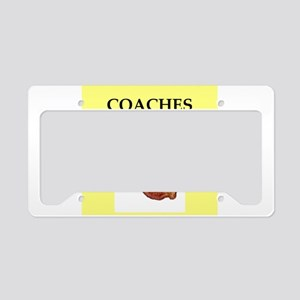 coach License Plate Holder