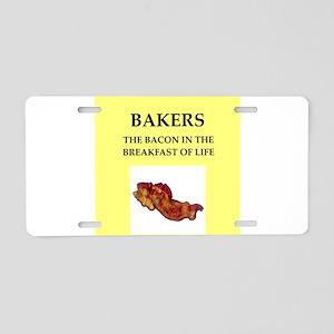 baker Aluminum License Plate