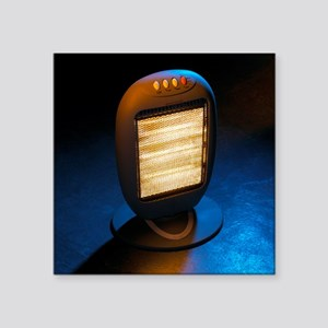 Electric heater - Square Sticker 3