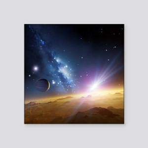 Extrasolar gas giant planet, artwork - Square Stic