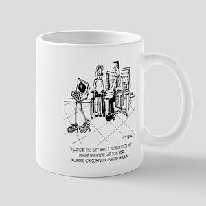 Disability Cartoon 1795 11 oz Ceramic Mug
