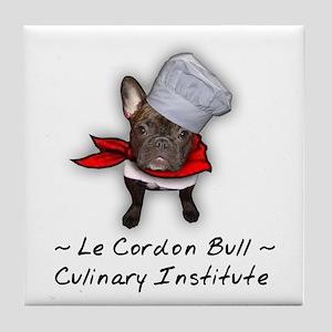 Le Cordon Bull Tile Coaster