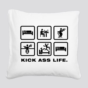 Movie Director Square Canvas Pillow