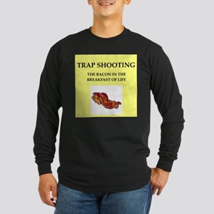 trap shooting Long Sleeve T-Shirt