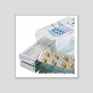 Tamiflu influenza drug - Square Sticker 3
