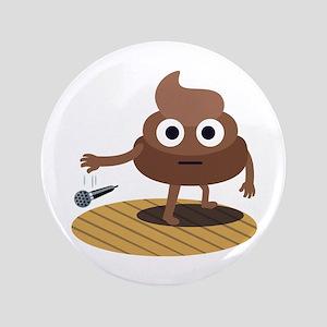 Emoji Poop Mic Drop Button