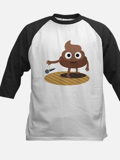 Emoji Poop Mic Drop Tee