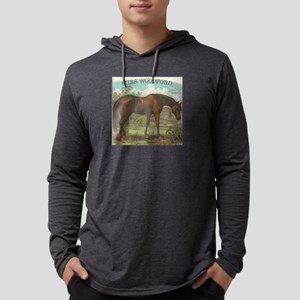 Miss Woodford Thoroughbred Race Mens Hooded Shirt