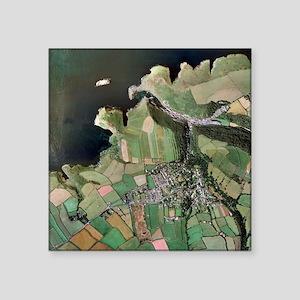 Boscastle, Cornwall - Square Sticker 3