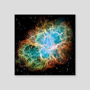 Crab nebula (M1) - Square Sticker 3