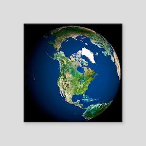 Earth - Square Sticker 3