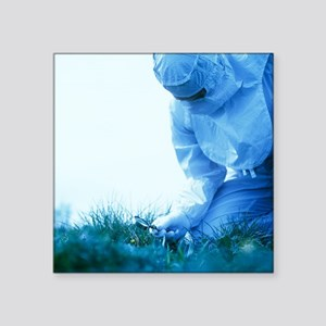 Environmental contamination - Square Sticker 3