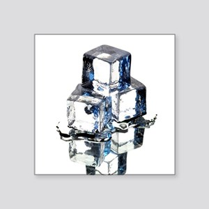 Ice cubes - Square Sticker 3