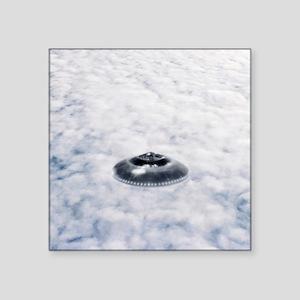 UFO sighting - Square Sticker 3