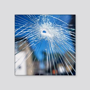 Broken glass - Square Sticker 3