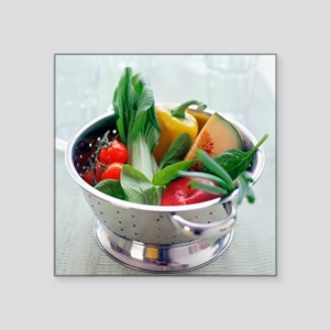 Fruit and vegetables - Square Sticker 3