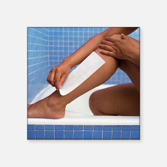 Hair removal - Square Sticker 3