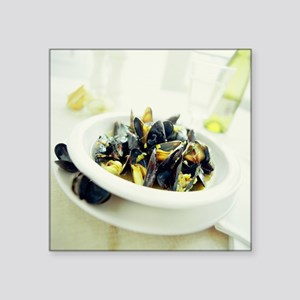 Mussels - Square Sticker 3