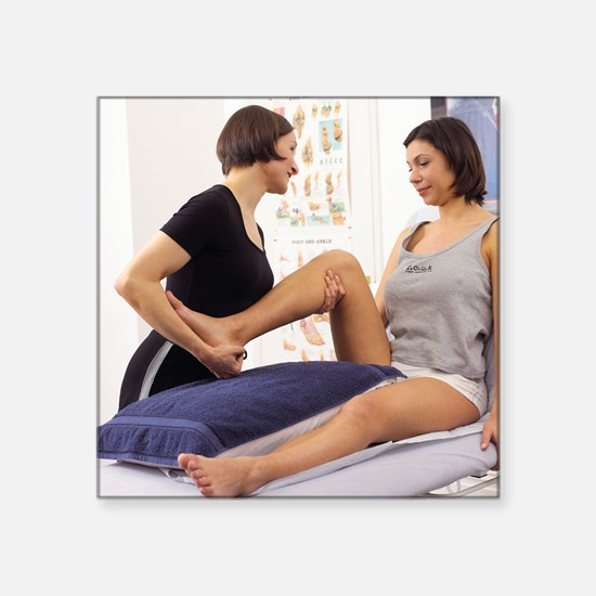 Physiotherapy - Square Sticker 3