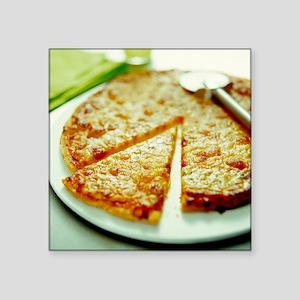 Pizza - Square Sticker 3