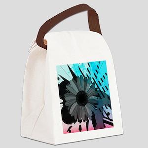 Sunflower Art Canvas Lunch Bag