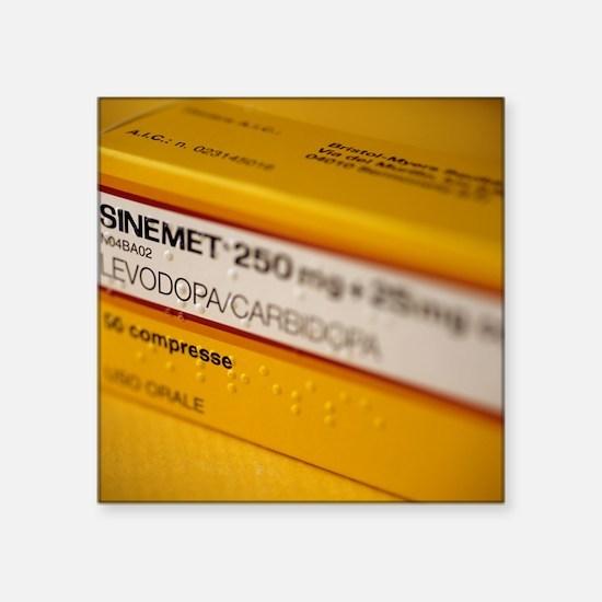 Sinemet Parkinson's disease drug - Square Sticker