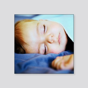 Sleeping baby boy - Square Sticker 3
