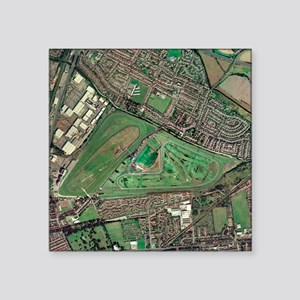 Aintree horse racing track, aerial image - Square